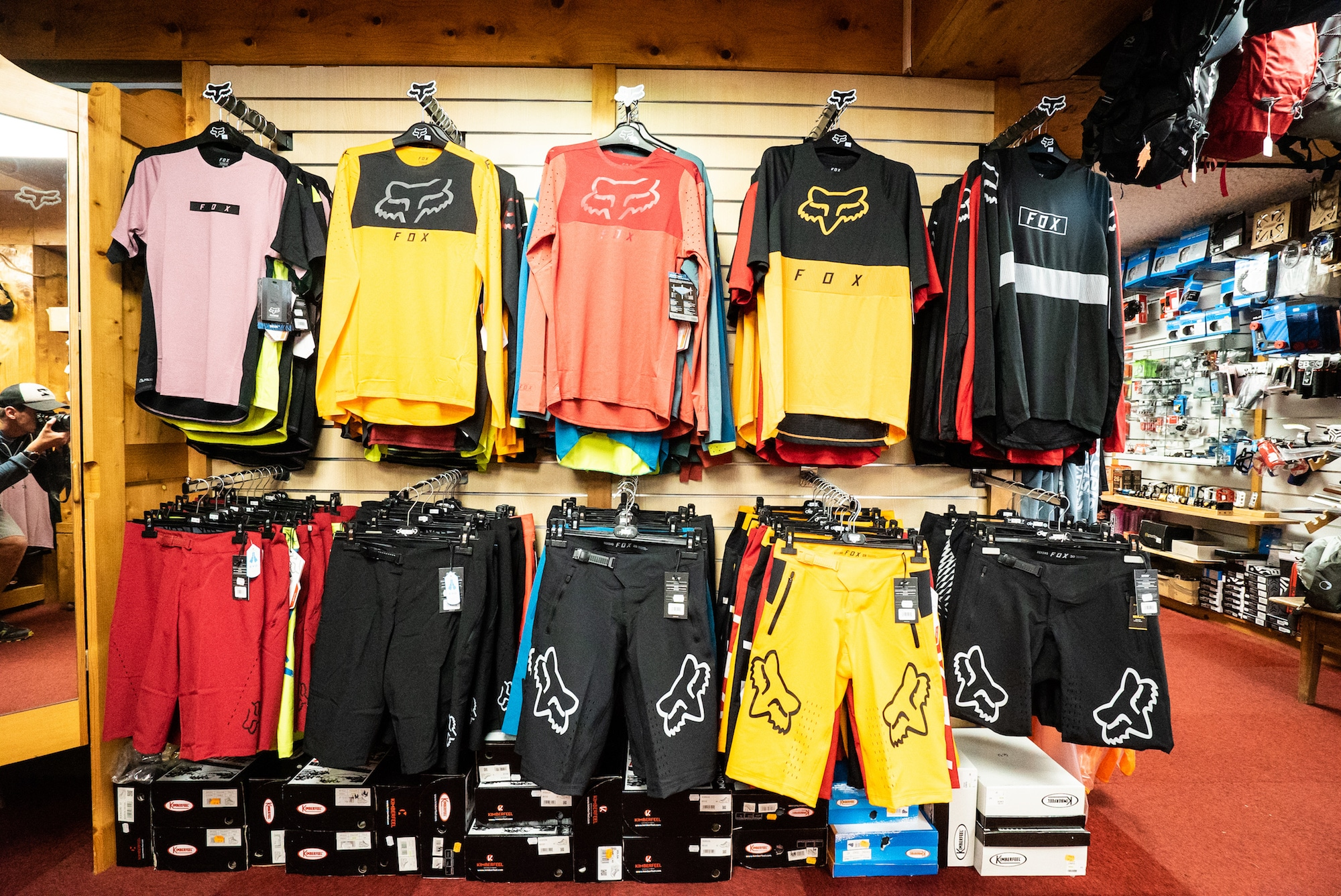 Collection VTT Descente et enduro FOX Les Gets
